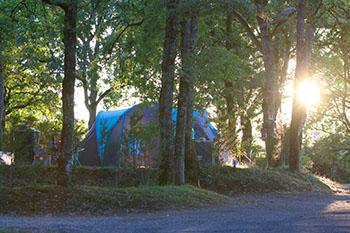 Camping dans le Lot