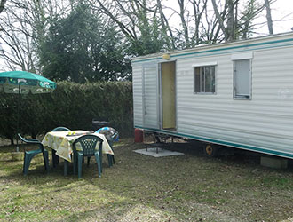Mobile Home without sanitary